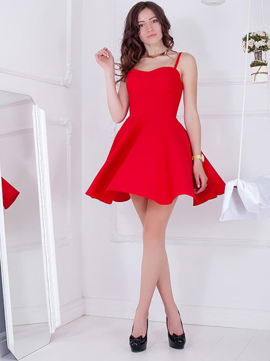 Платье красное   5037182