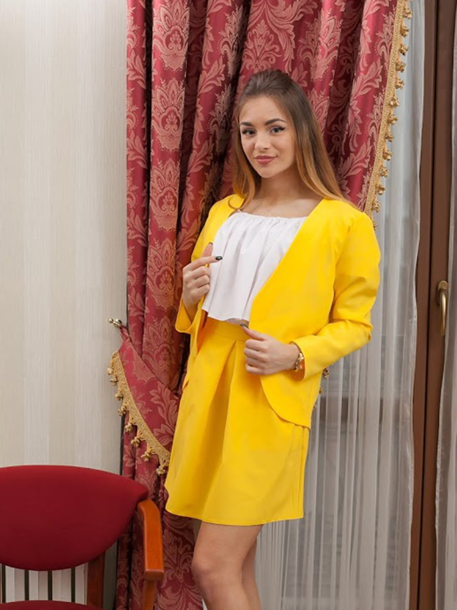 Жакет желтый   5037188