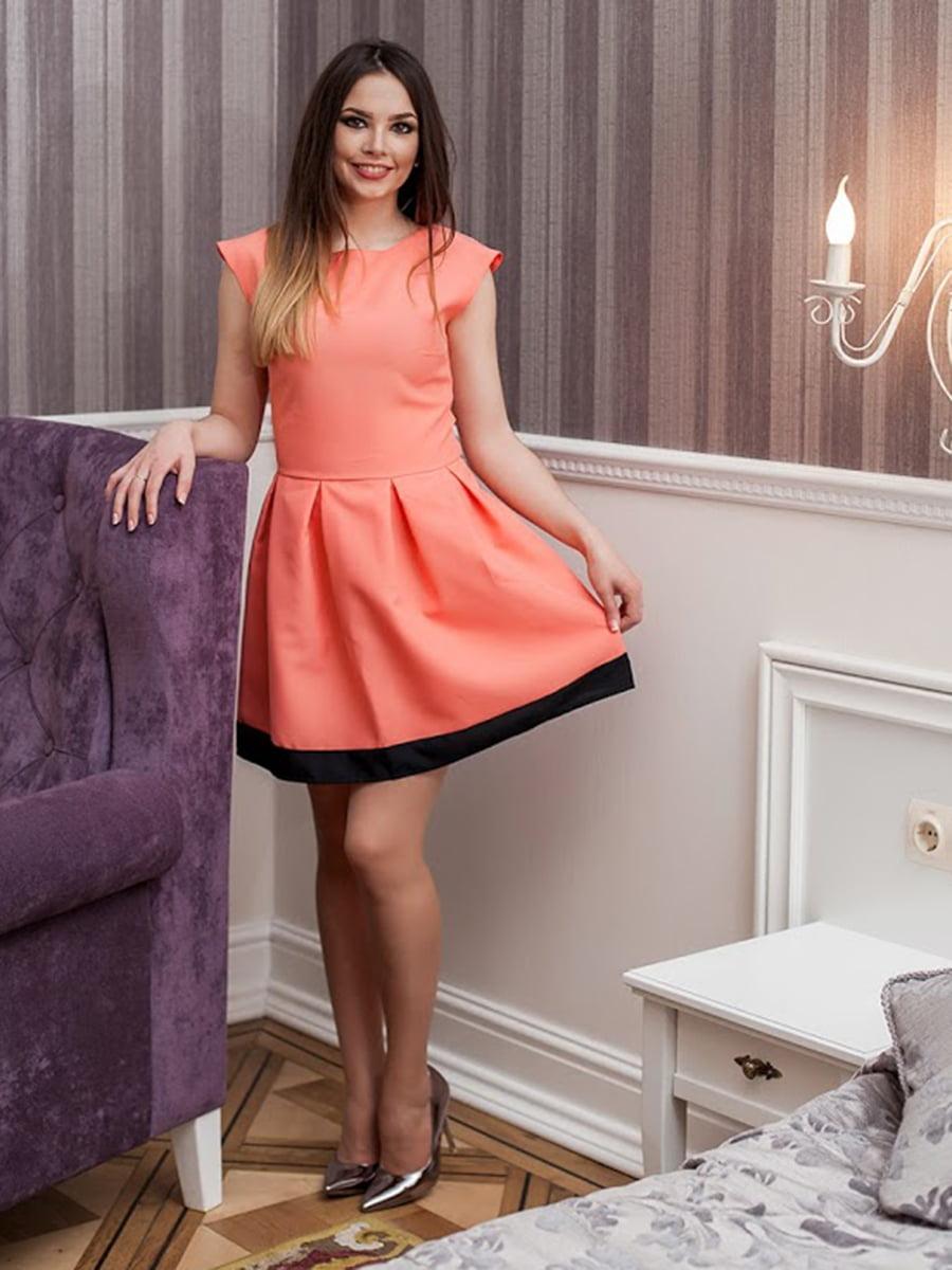 Платье коралловое | 5037219
