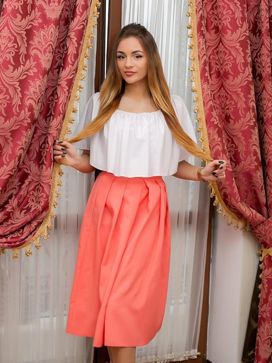 Юбка персикового цвета | 5037269