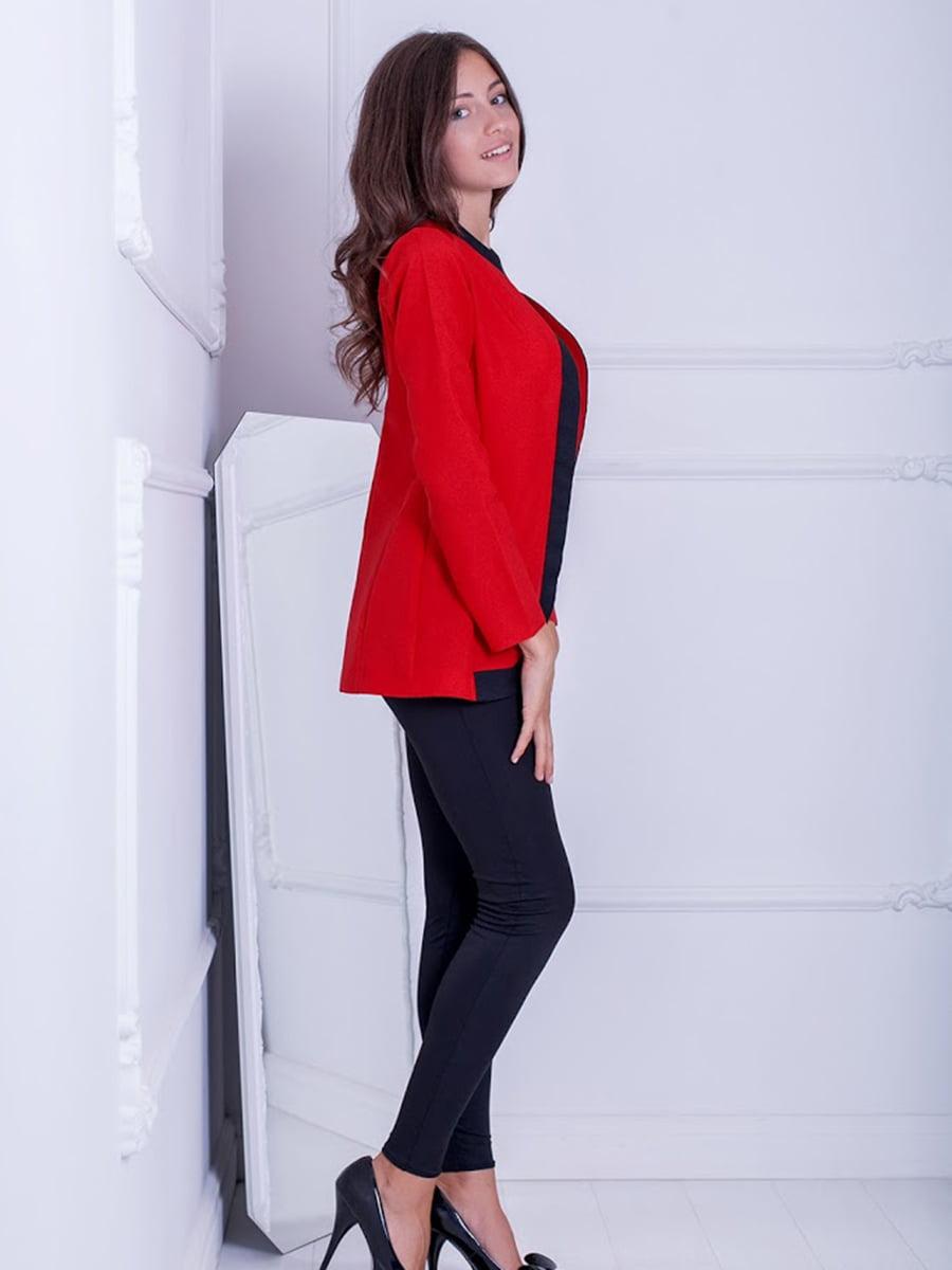 Жакет красный | 5037272