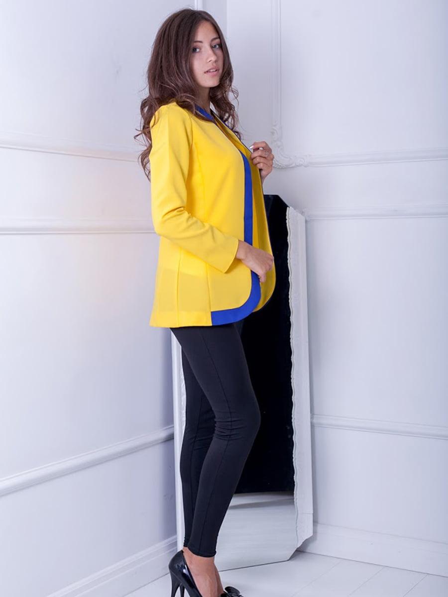 Жакет желтый | 5037273