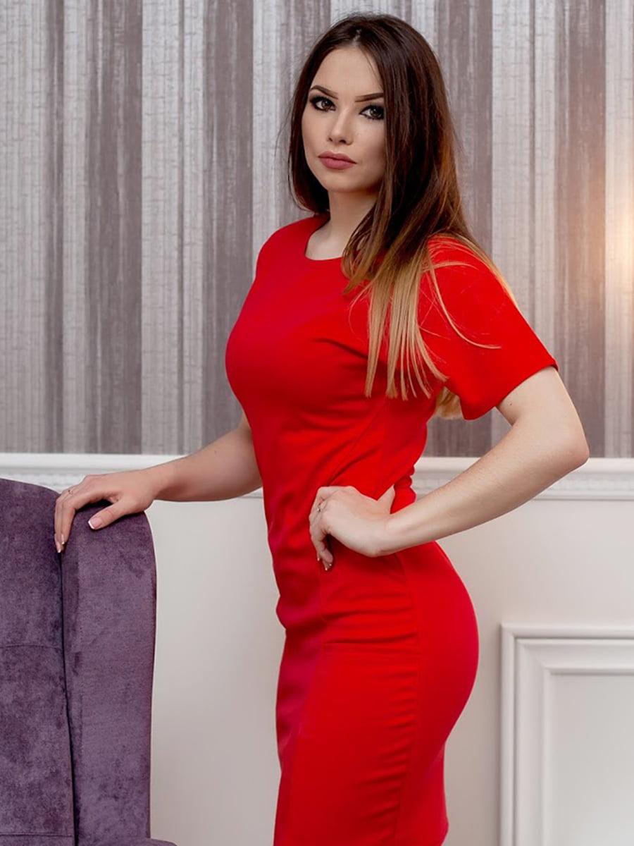 Платье красное | 5037282