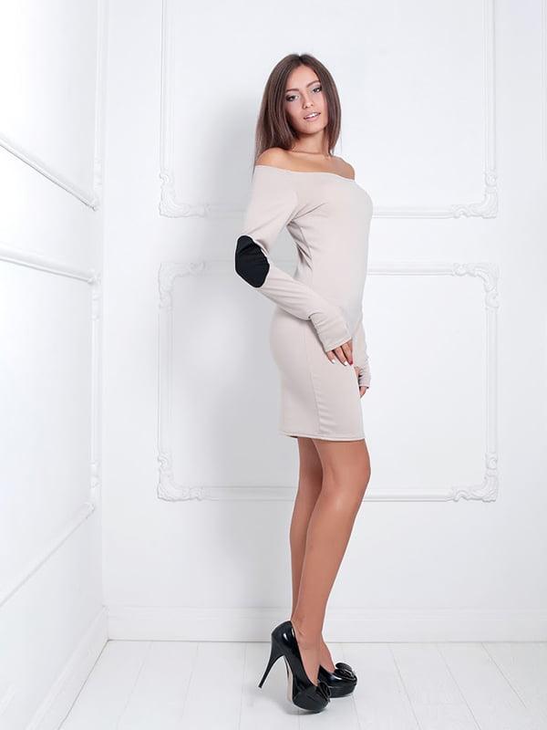 Платье бежевое | 5037323