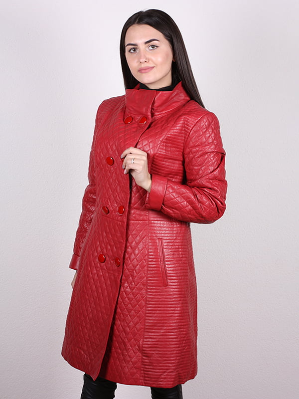 Пальто гранатового цвета | 5034435