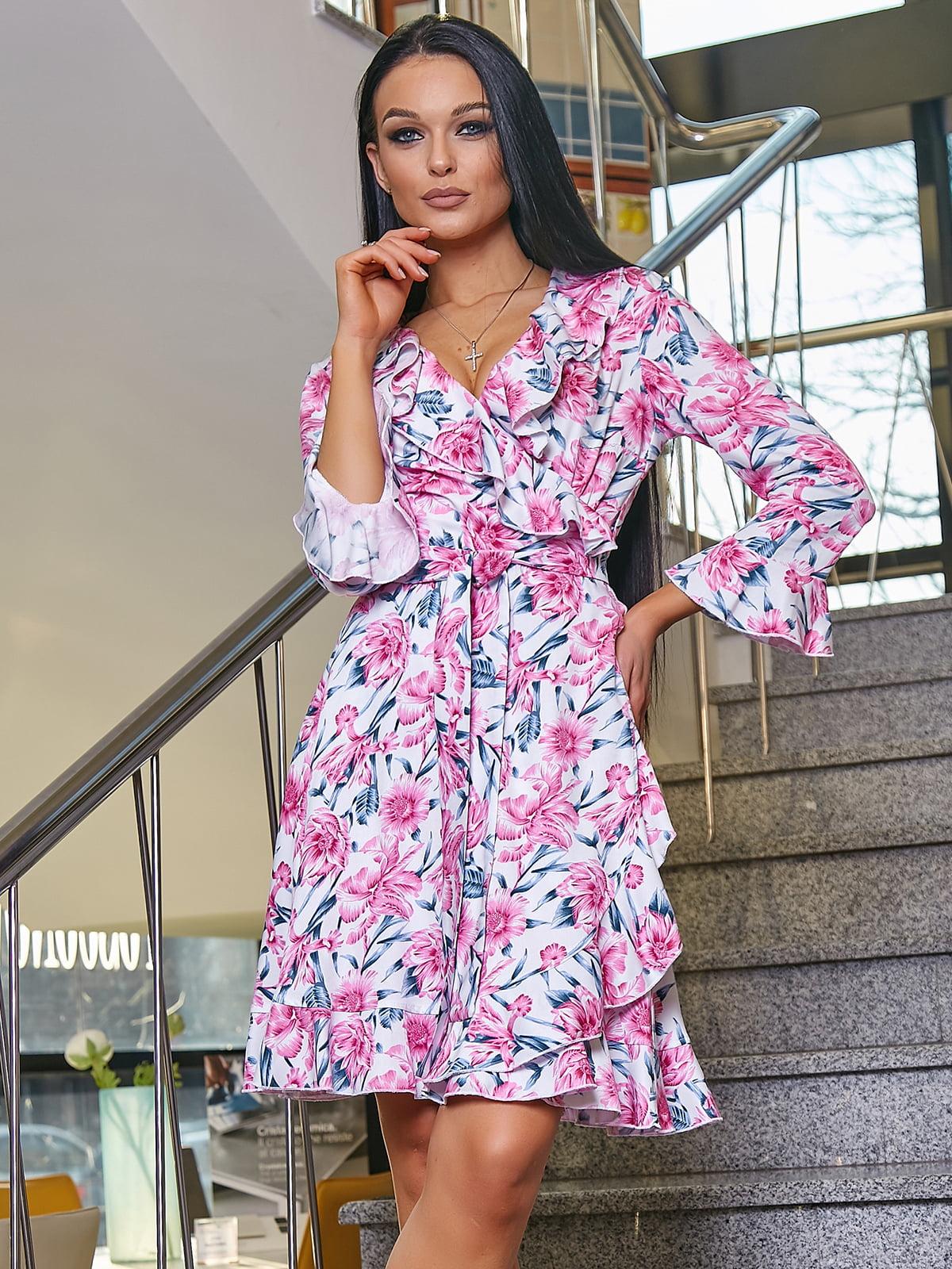 Платье в цветочный принт   5037665