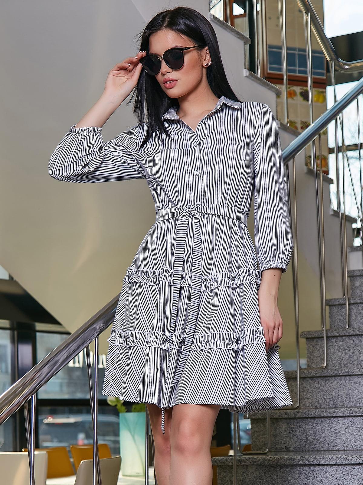 Платье в полоску | 5037668