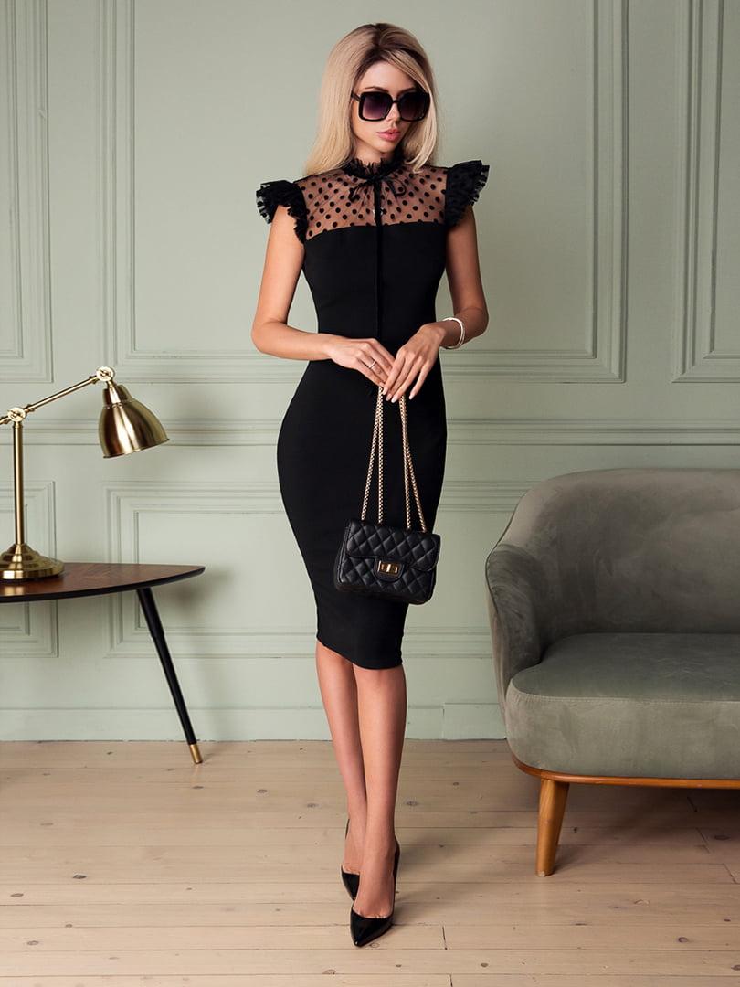 Платье черное | 5037541