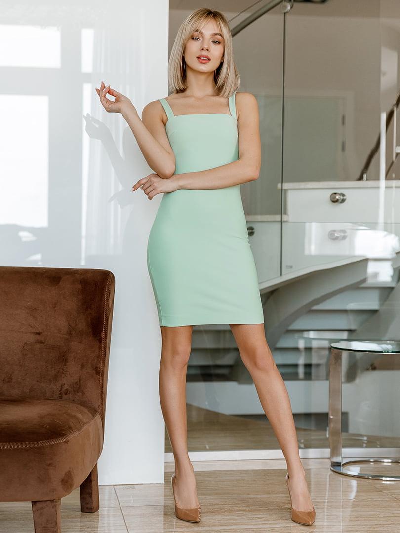 Платье зеленое | 5037546