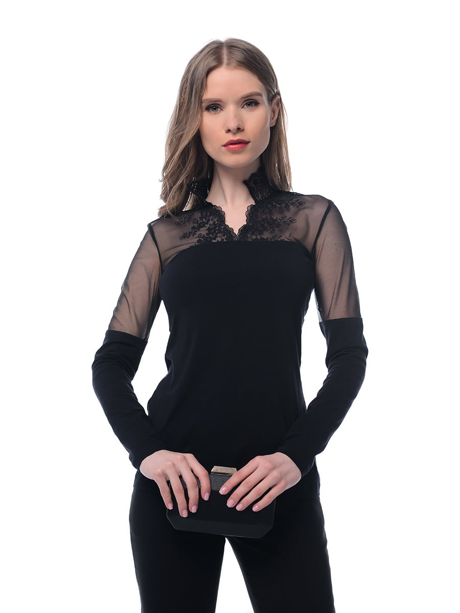 Блуза чорна   5033181