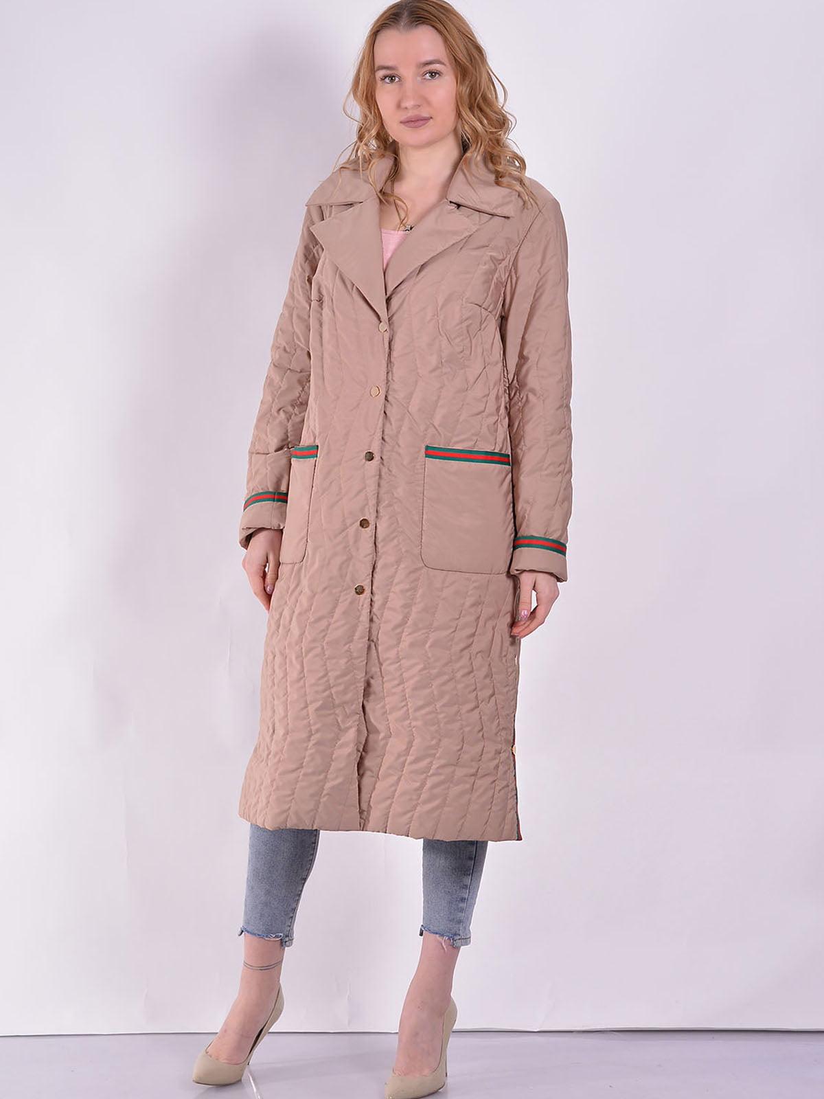 Пальто бежеве | 5039015