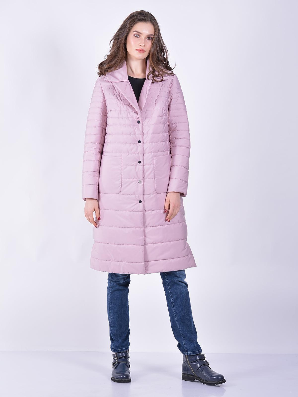 Пальто рожеве | 5039018