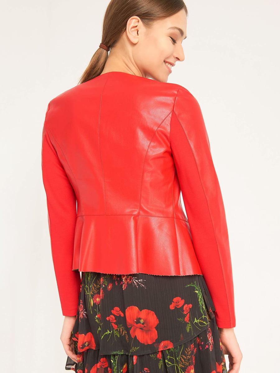 Куртка красная | 4985912 | фото 6