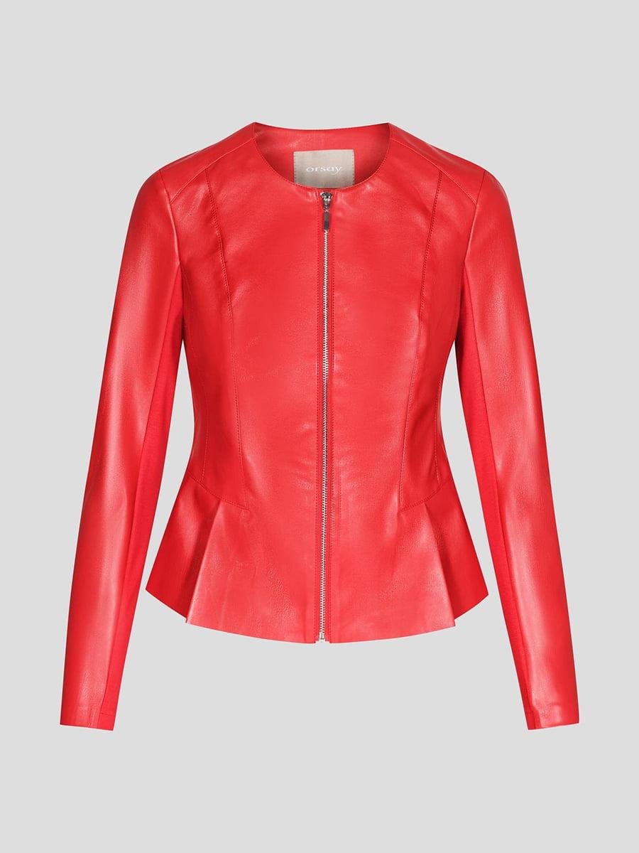 Куртка красная | 4985912 | фото 8