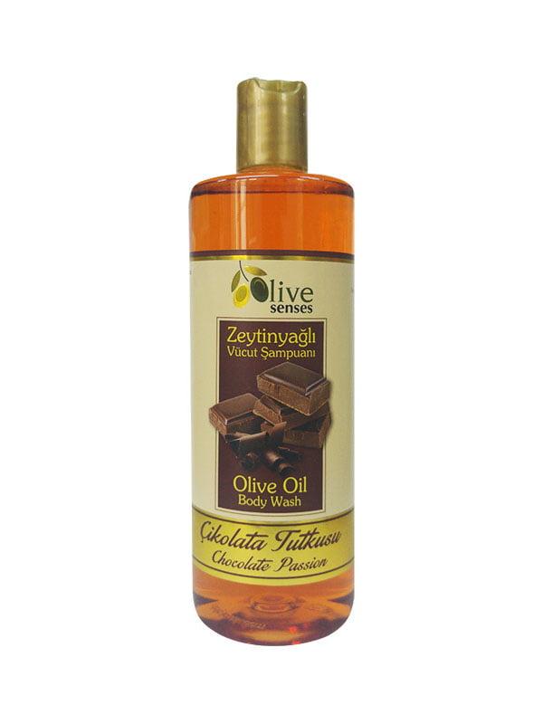 Гель для душа с оливковым маслом «Шоколад» для ежедневного использования | 4986425