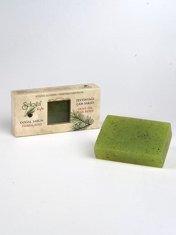 Мыло глицериновое с натуральными маслами «Живица» | 4986457