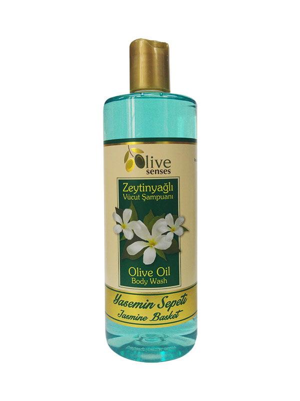 Гель для душа с оливковым маслом «Жасмин» для ежедневного использования   4986426