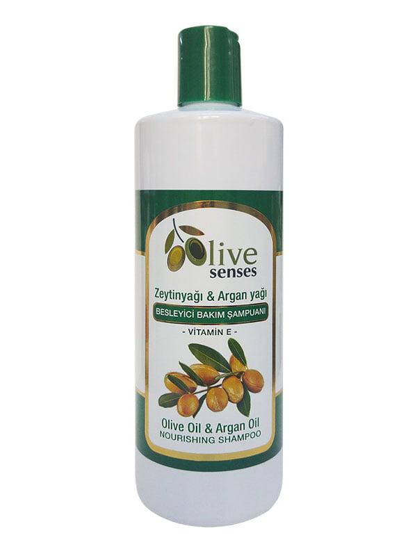 Шампунь питательный с оливковым и аргановым маслом | 4986487