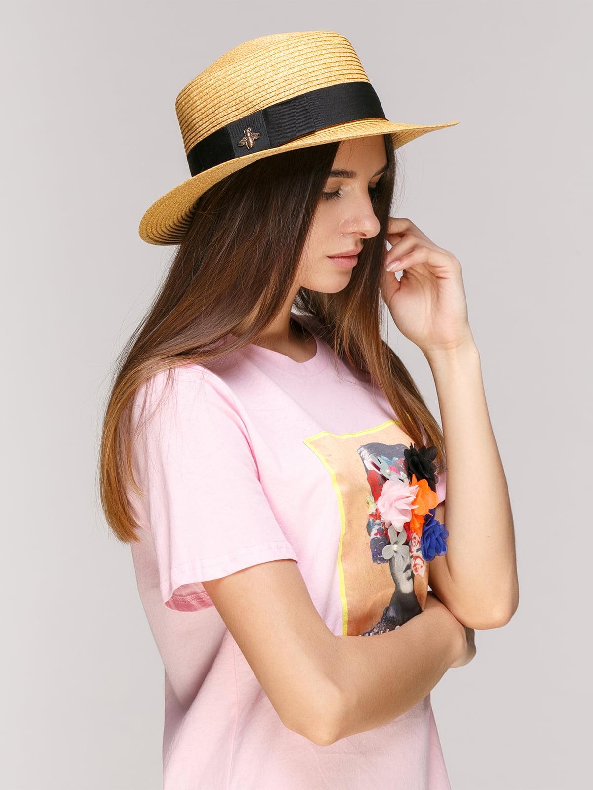Шляпа бежевая | 5029387