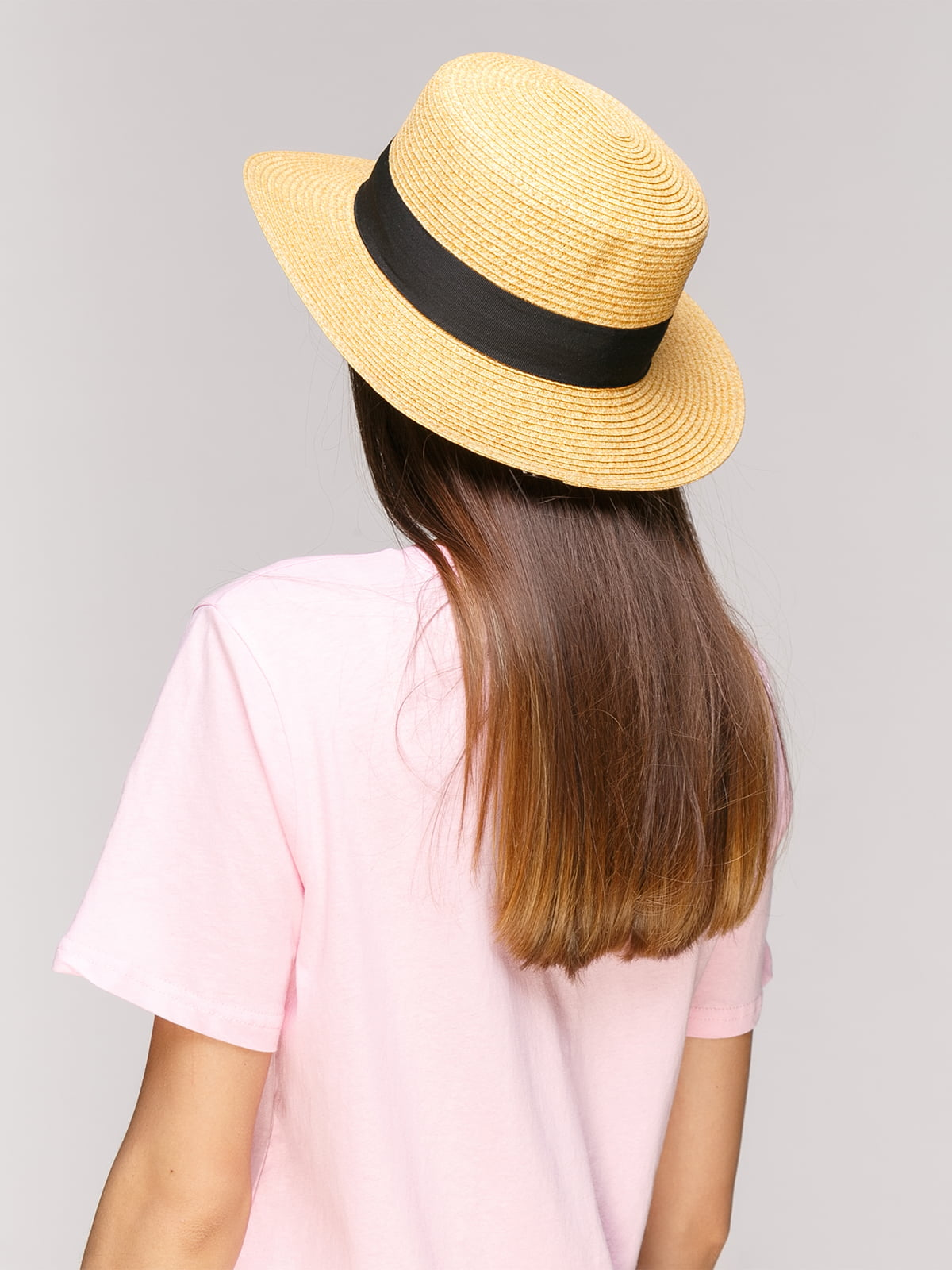 Шляпа бежевая | 5029387 | фото 2