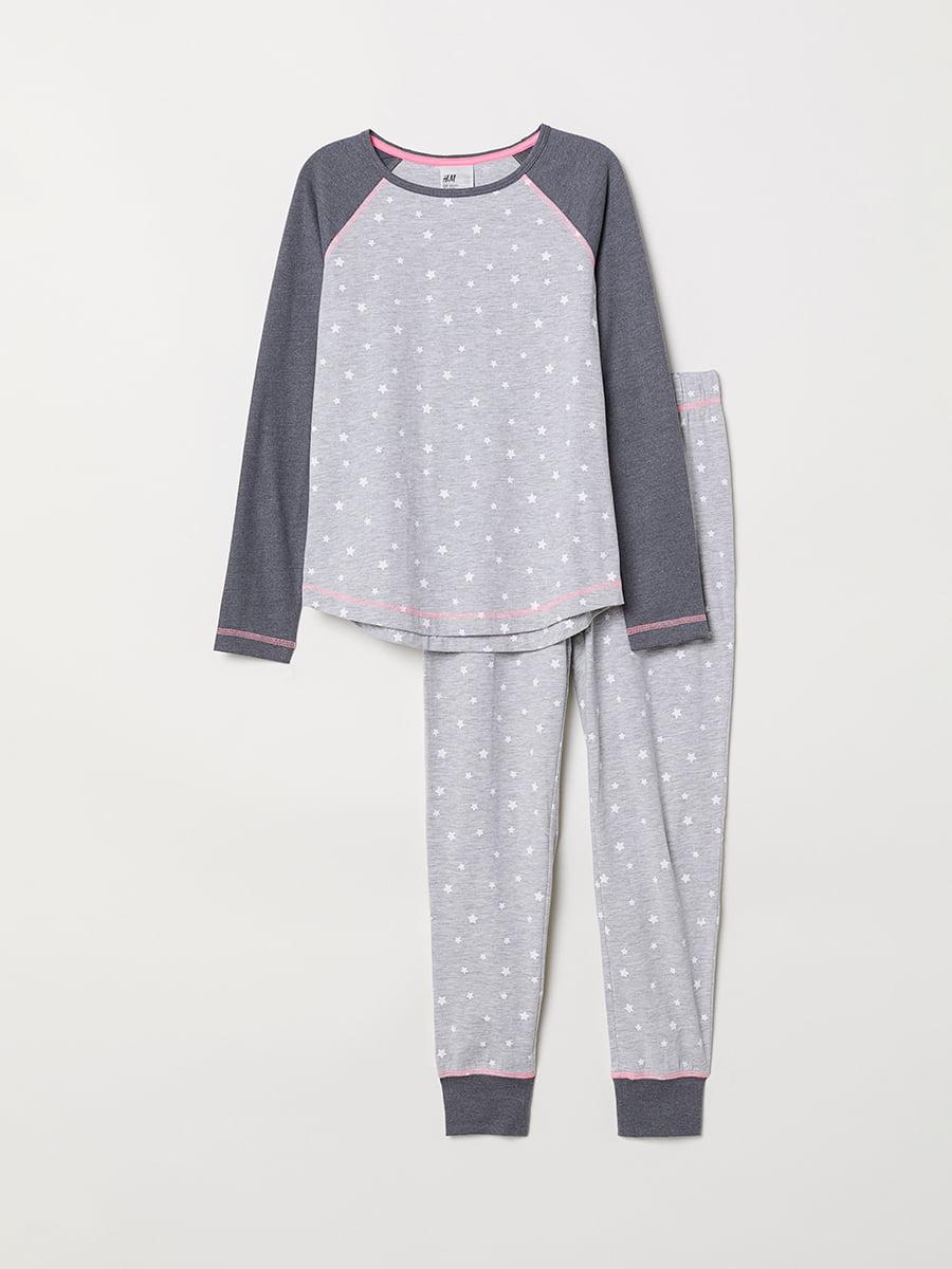 Пижама: лонгслив и брюки   5045085