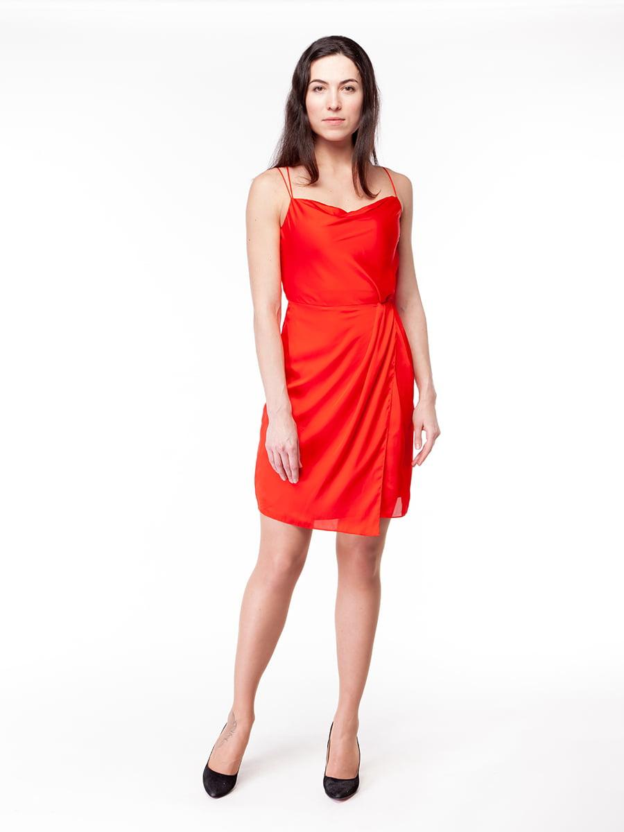 Платье красное | 5045513