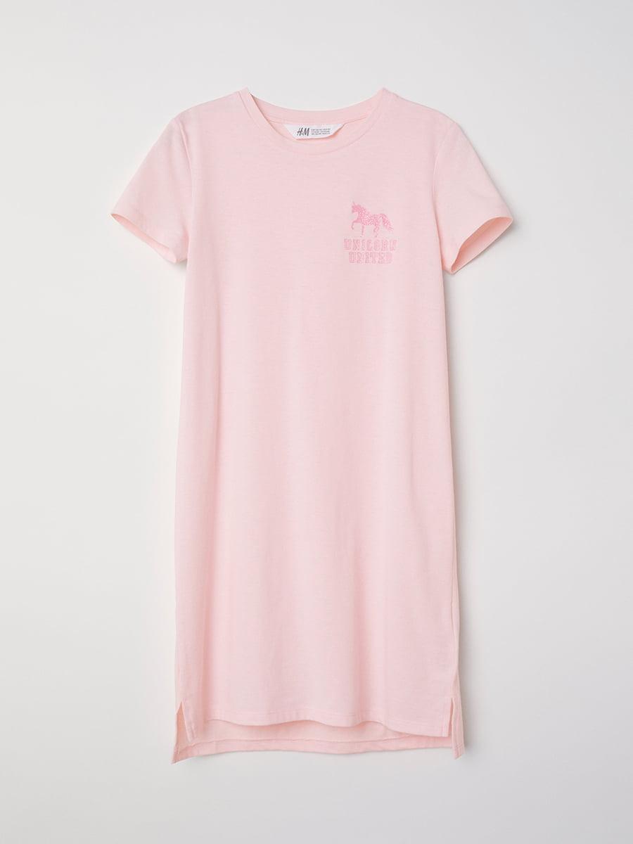 Платье розовое | 5045870
