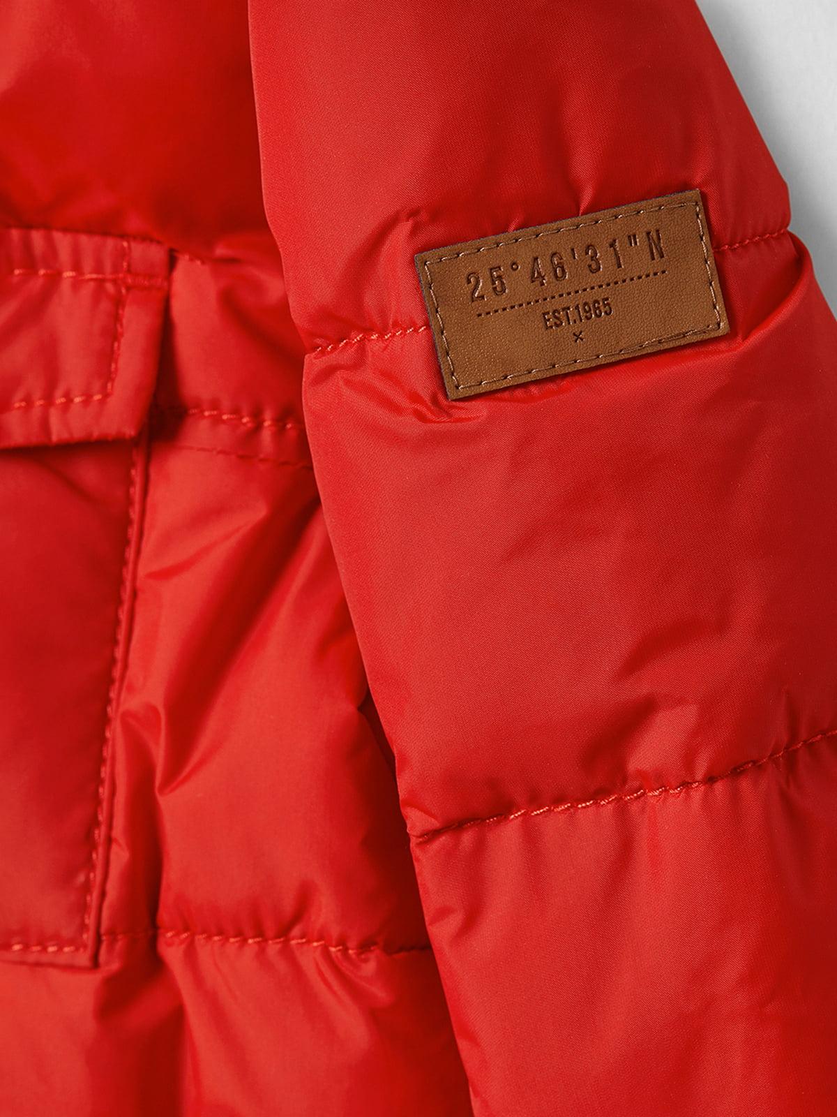 Куртка красная | 5045929 | фото 3
