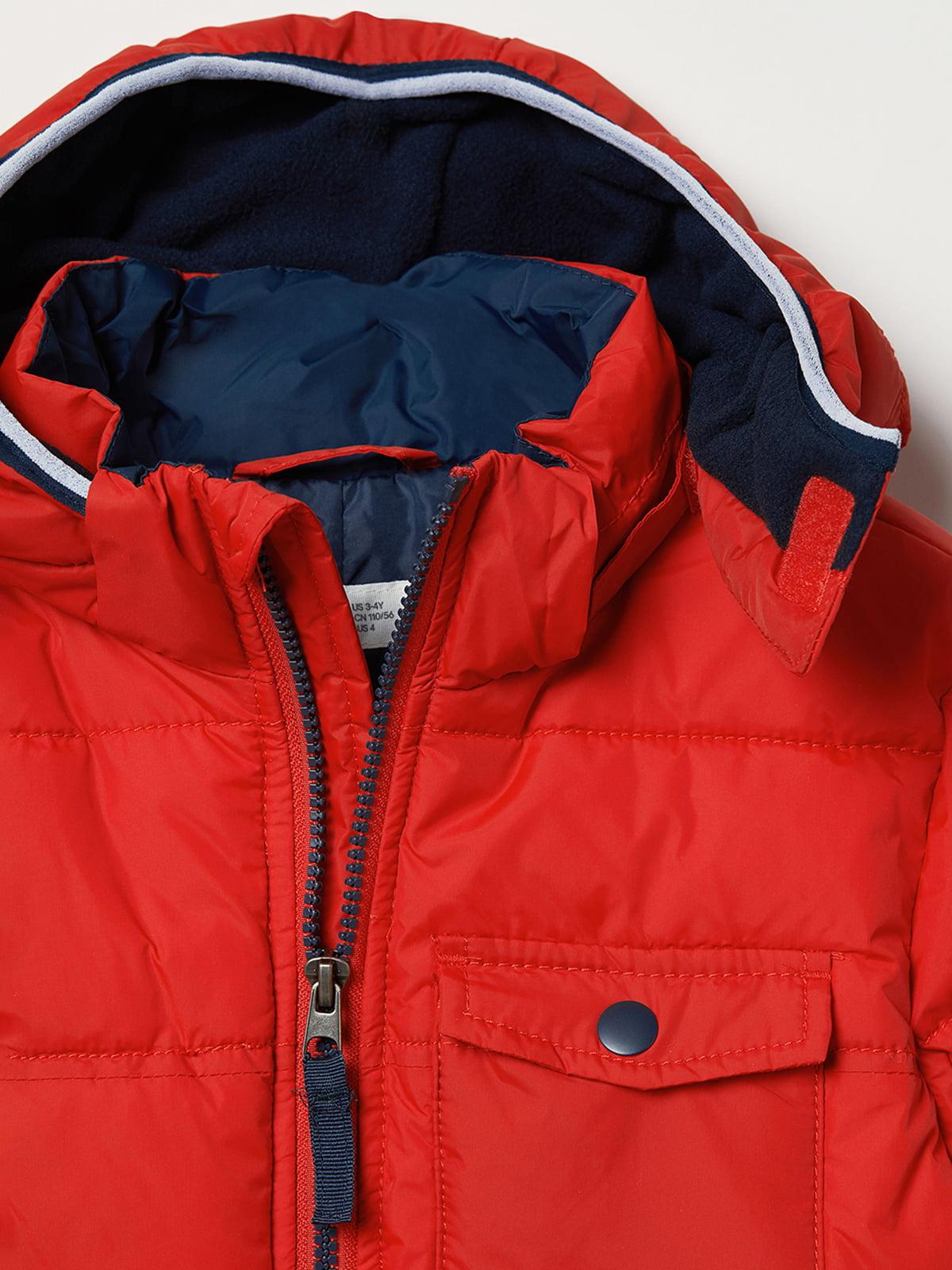 Куртка красная | 5045929 | фото 4