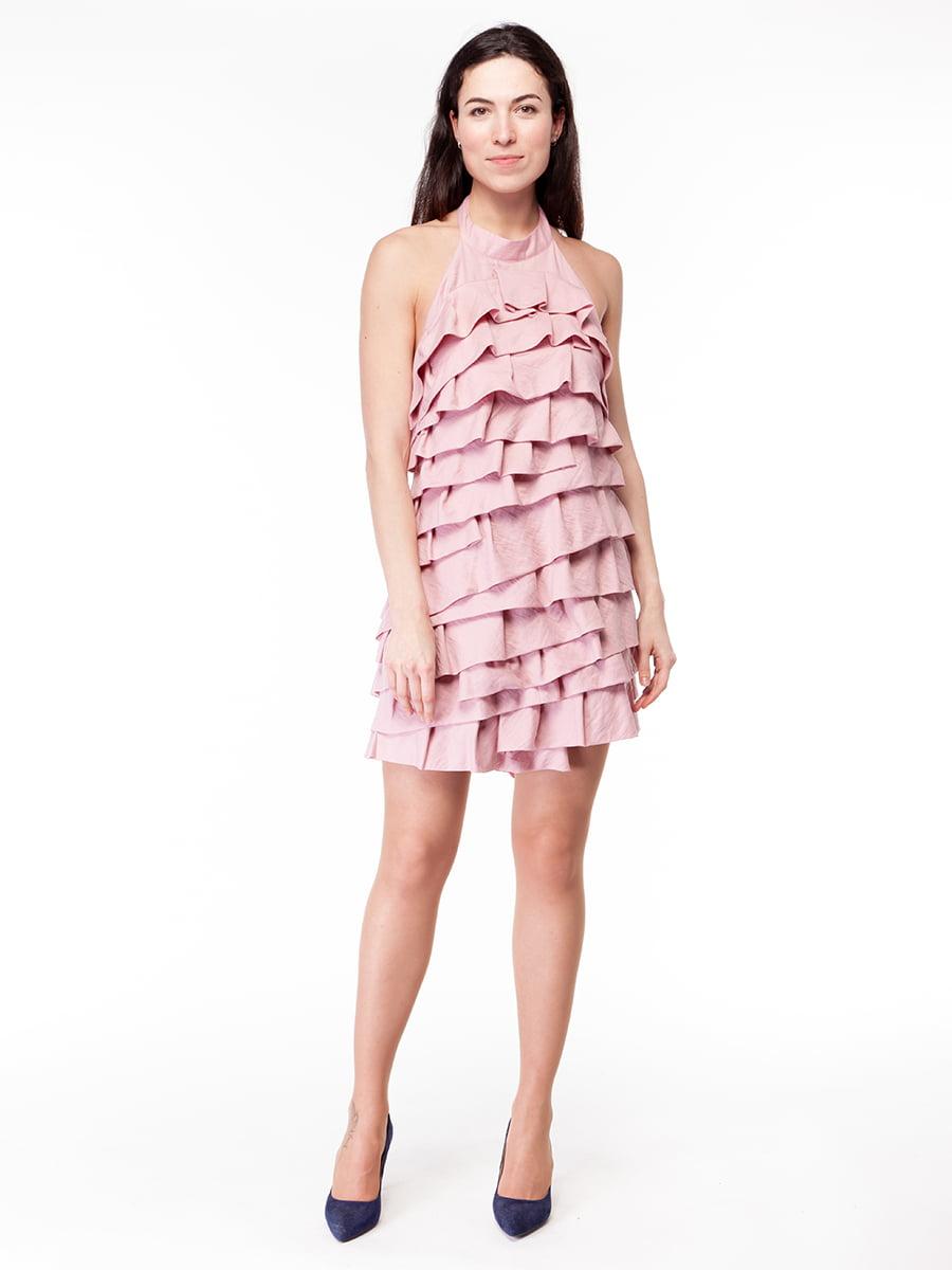 Платье розовое | 5046235