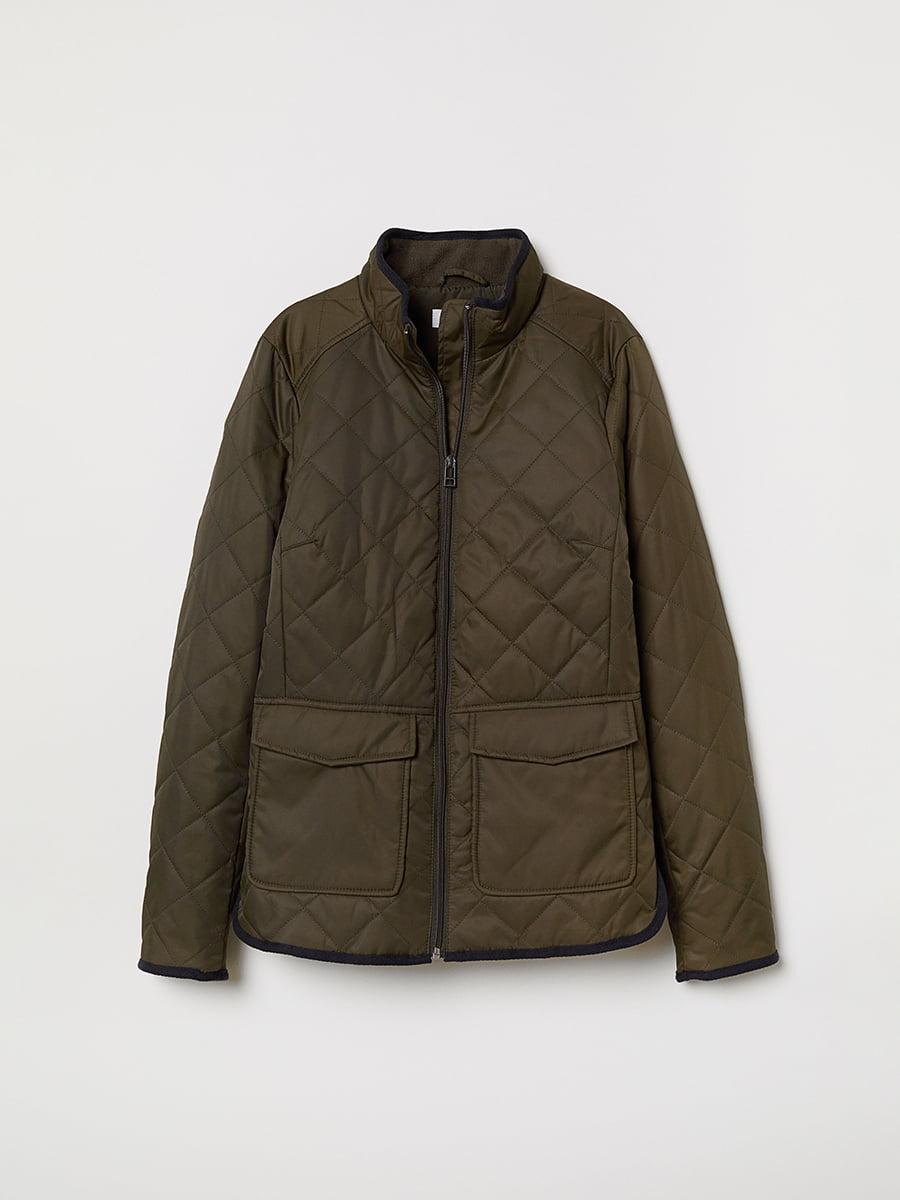 Куртка цвета хаки | 5046294