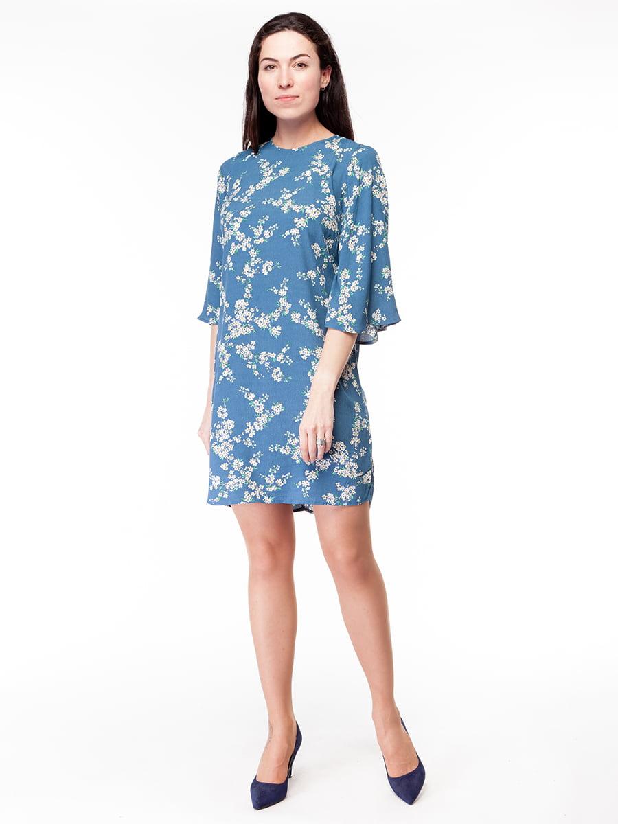 Платье синее | 5046443