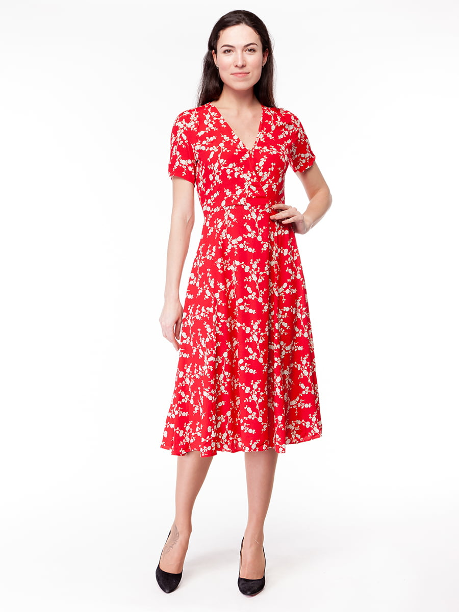 Платье красное | 5046451