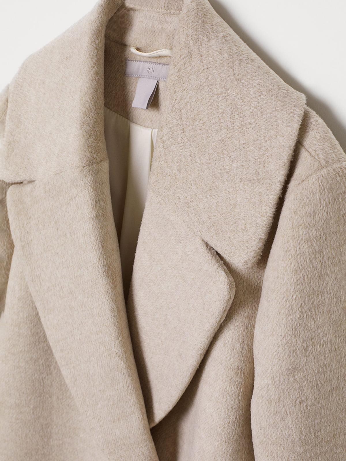 Пальто бежевое | 5046518 | фото 2