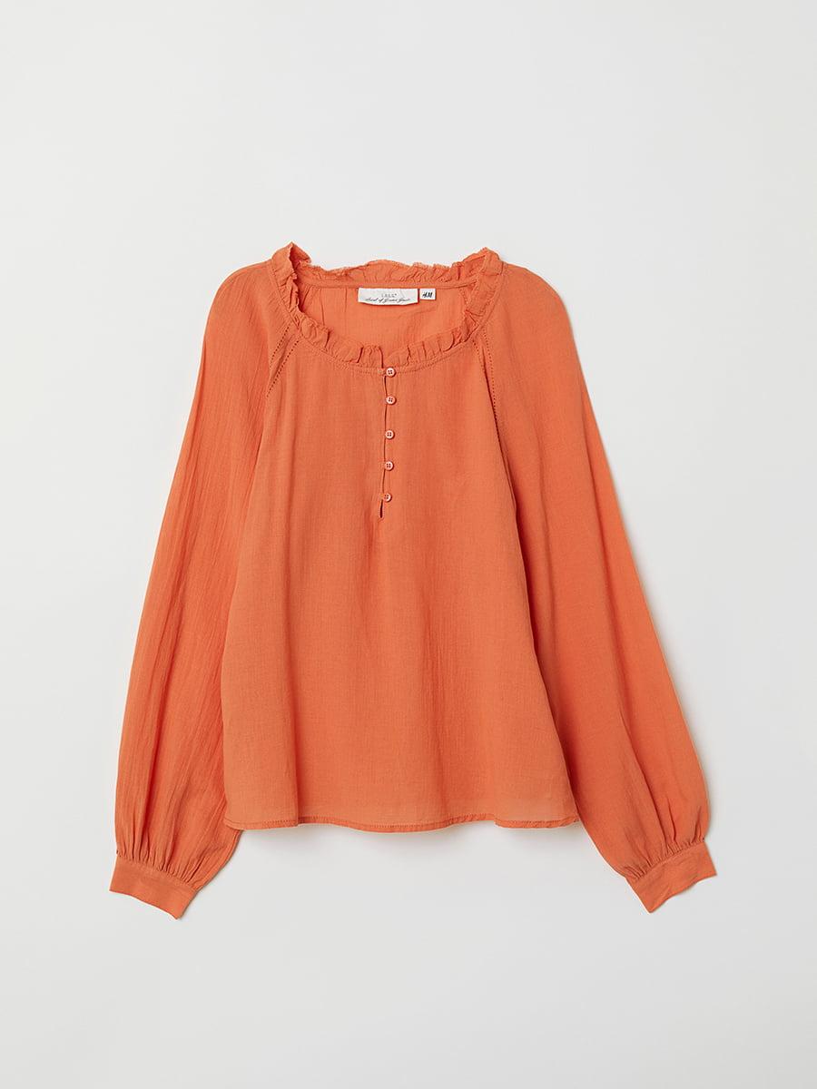 Блуза оранжевая | 5046843