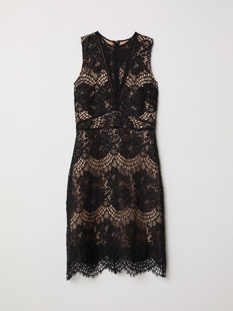 Платье черное | 5046865