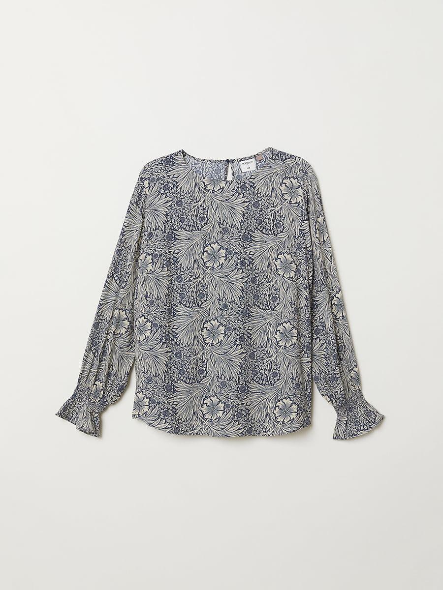 Блуза синяя | 5046934