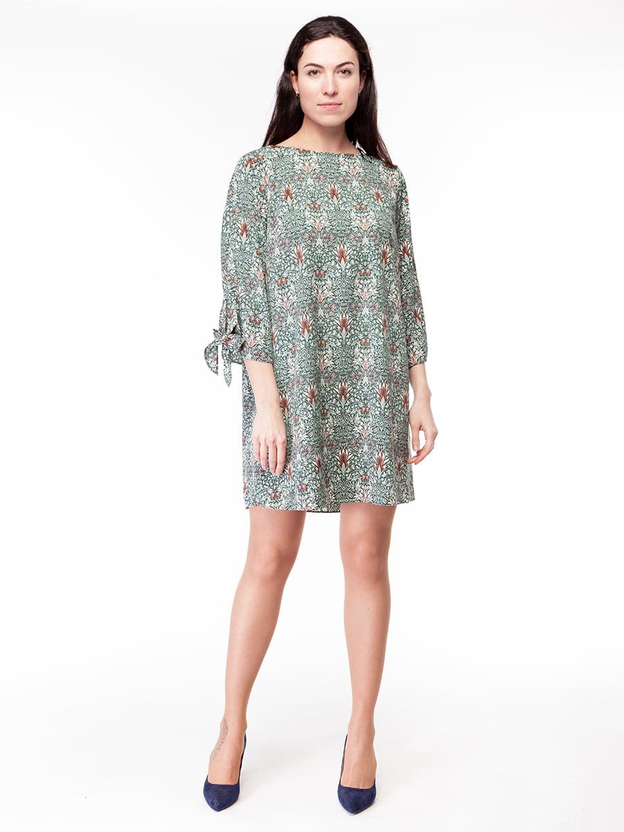 Платье в принт | 5046935
