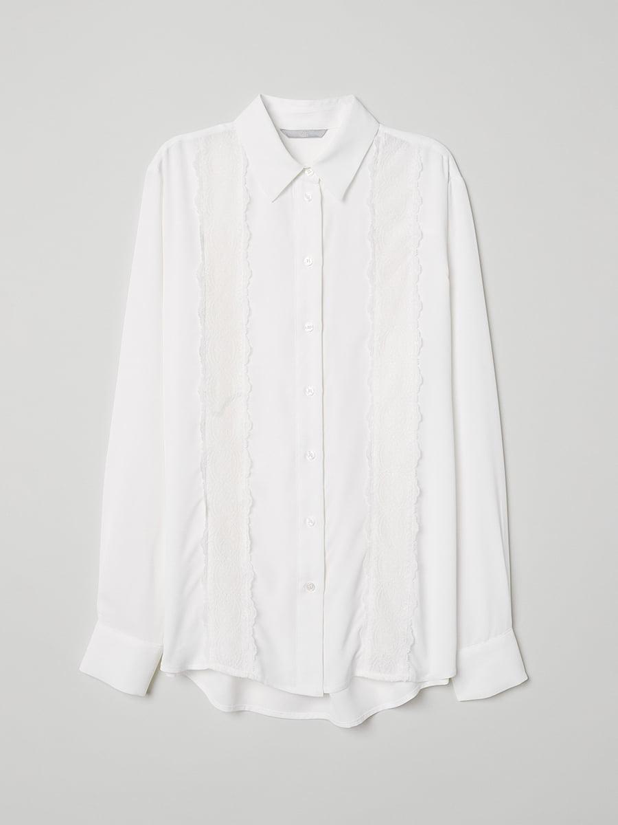 Рубашка белая | 5046944