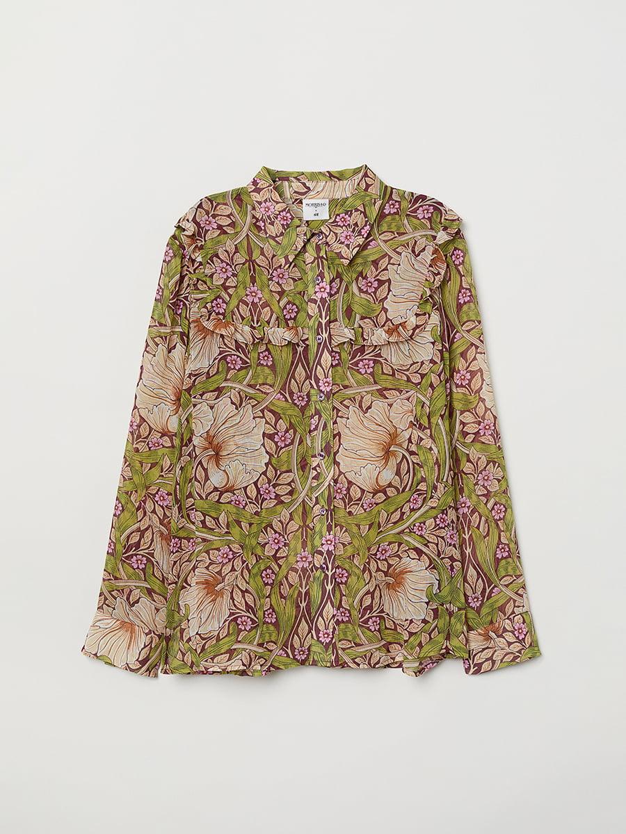 Блуза в цветочный принт | 5047017