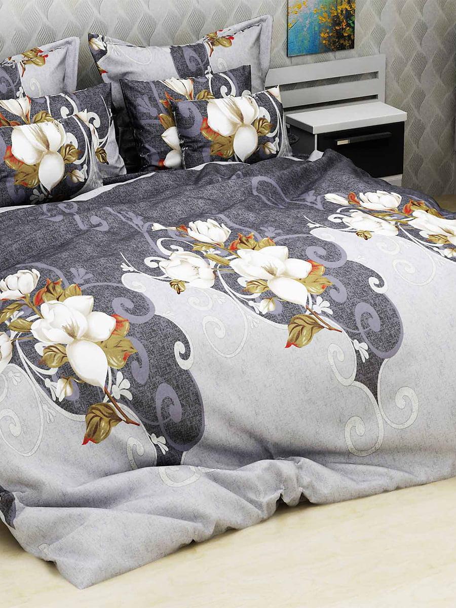 Комплект постільної білизни двоспальний (євро) | 4893350 | фото 3