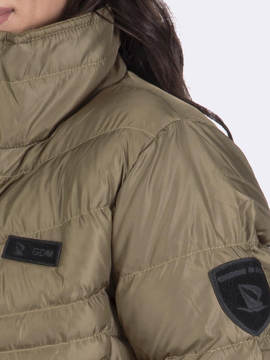 Куртка цвета хаки | 4592973 | фото 7
