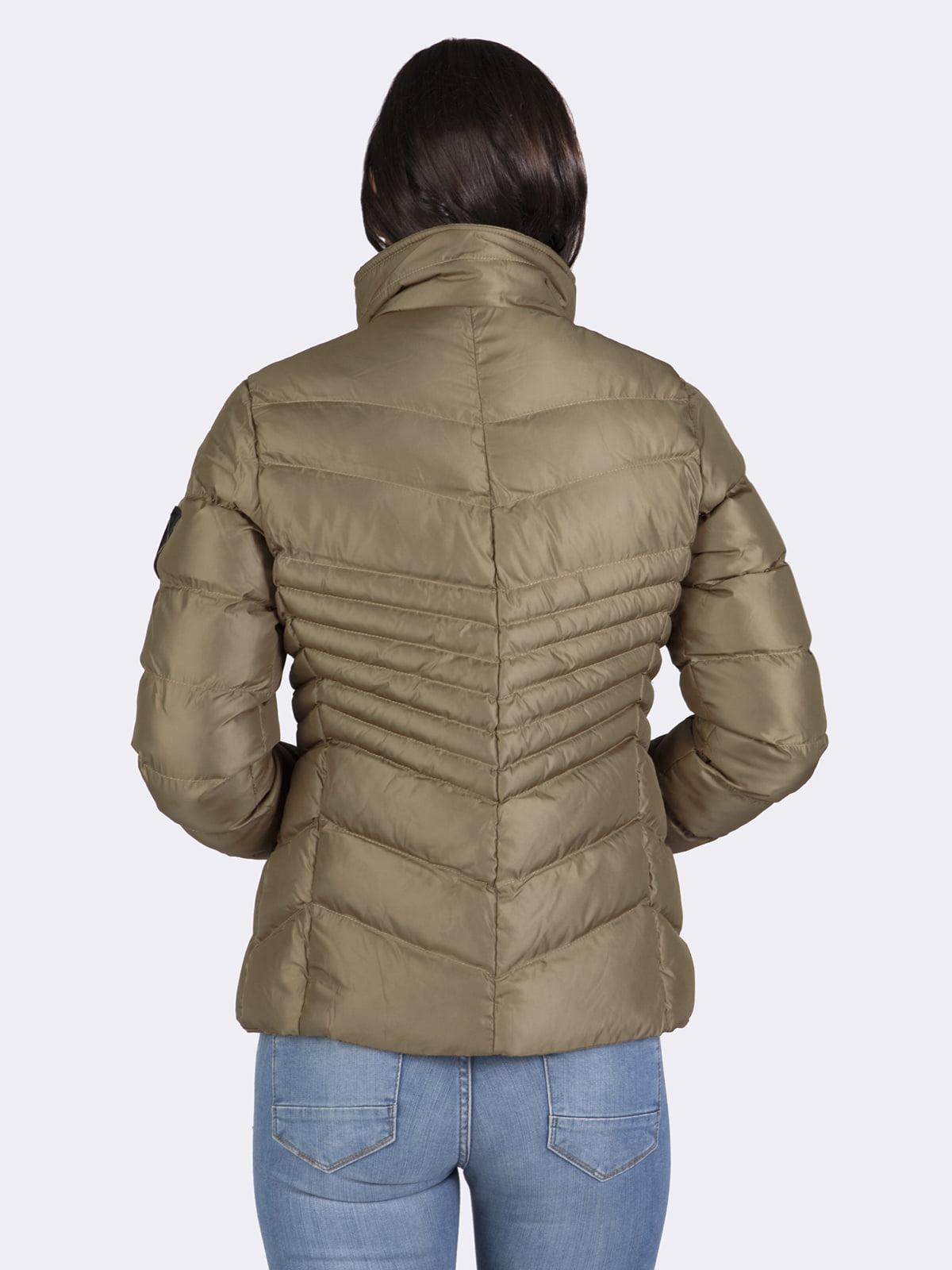 Куртка цвета хаки | 4592973 | фото 8