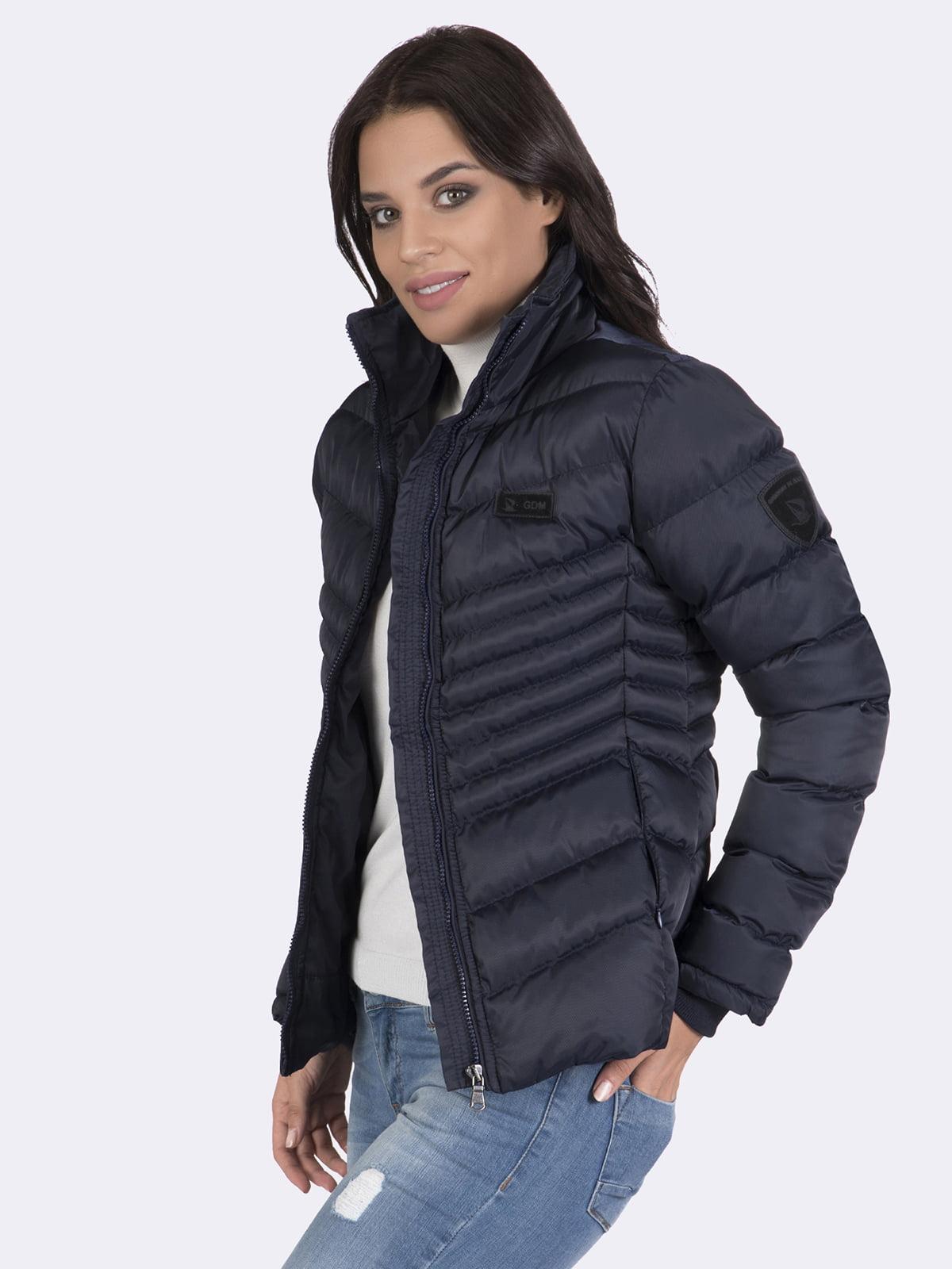 Куртка темно-синяя | 4592974 | фото 7