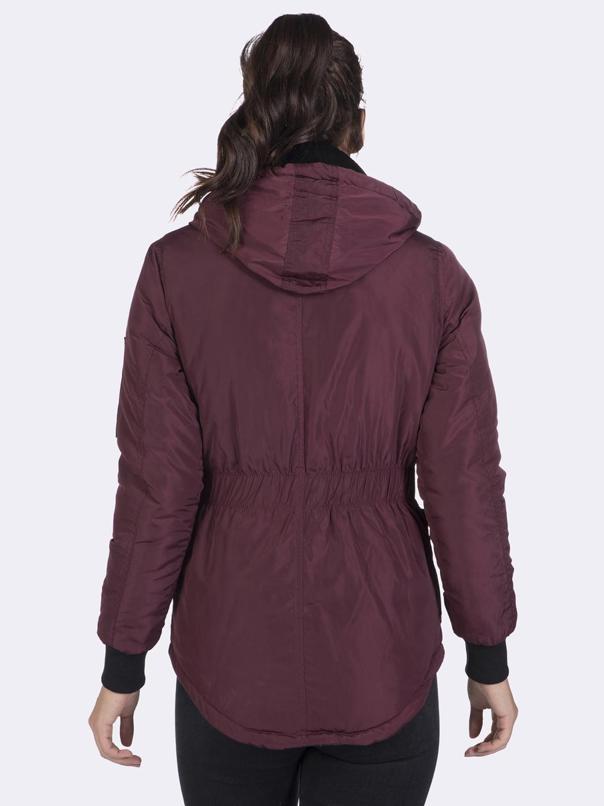 Куртка бордовая | 4592976 | фото 8