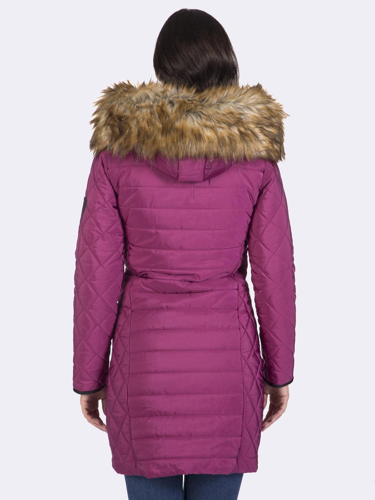 Пальто кольору фуксії | 4593015 | фото 8