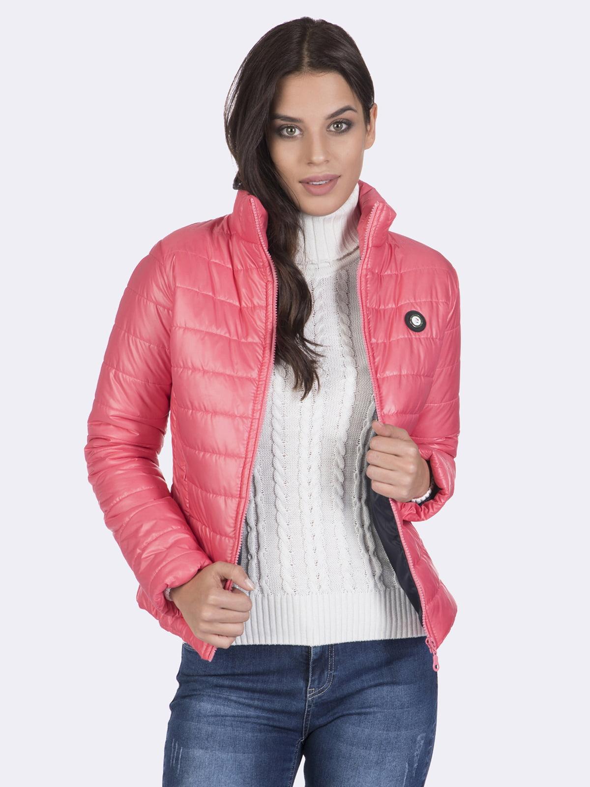 Куртка розовая | 4649740 | фото 5