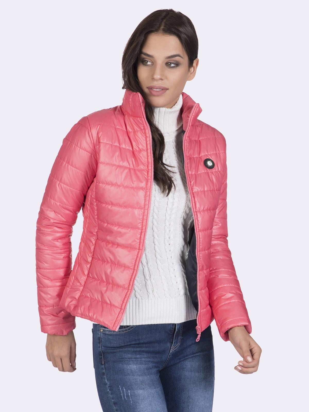 Куртка розовая | 4649740 | фото 6