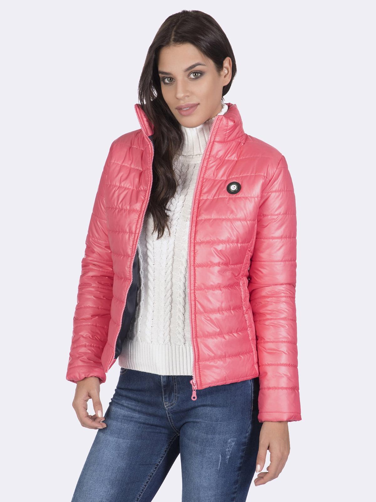 Куртка розовая | 4649740 | фото 7