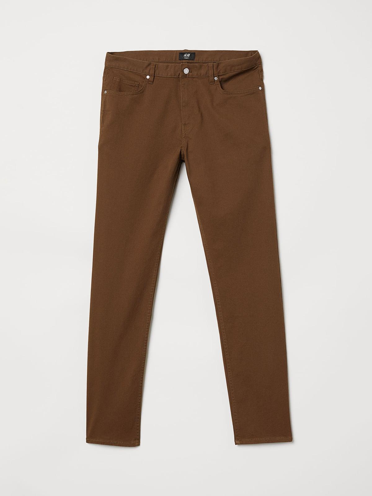 Брюки коричневые   5045091